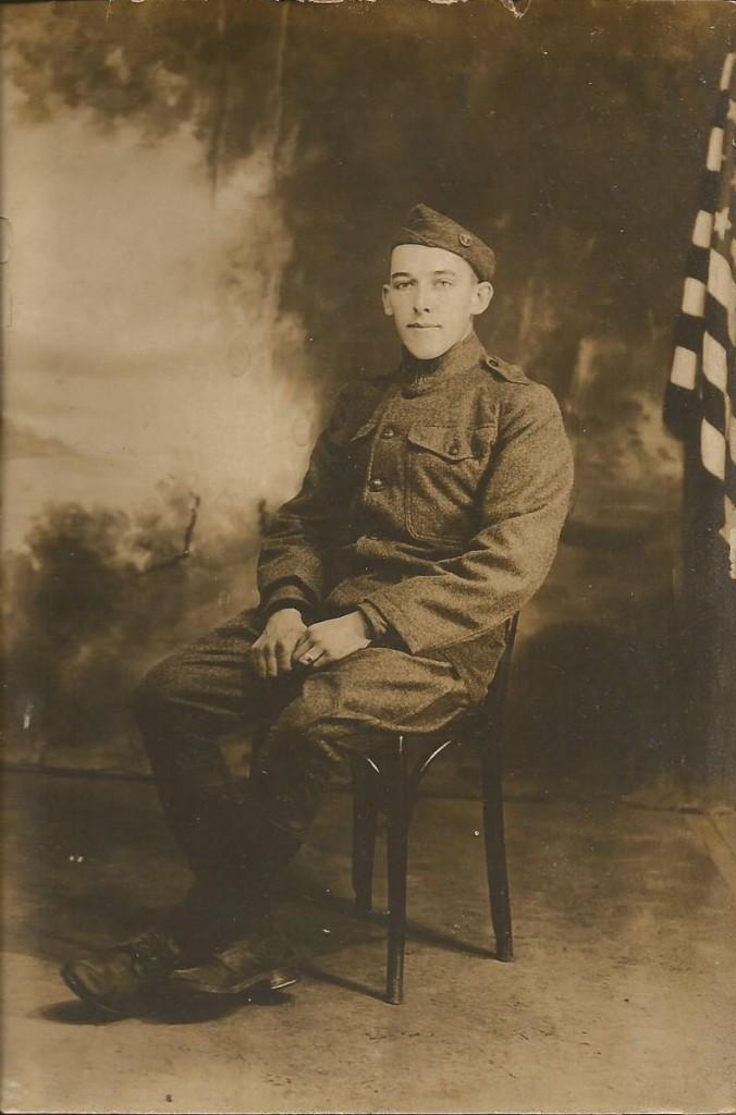 John Roetman WW1