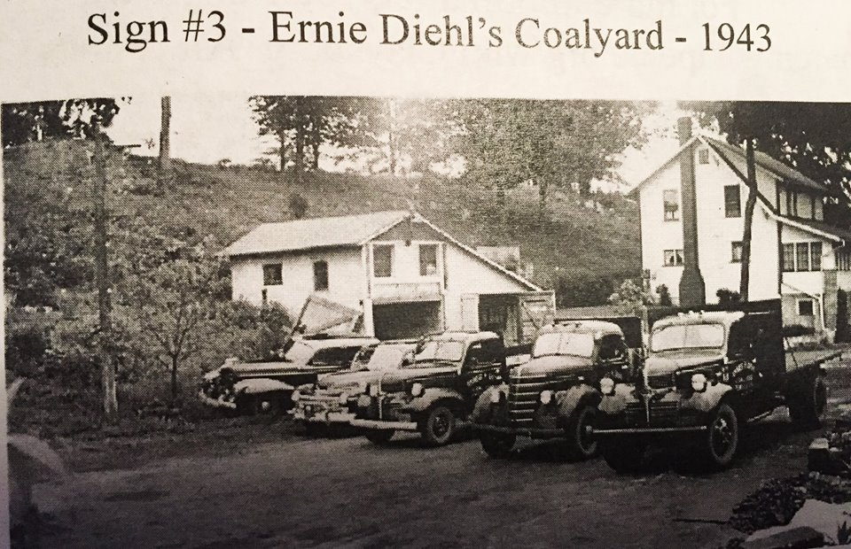 ernies coal yard 1943