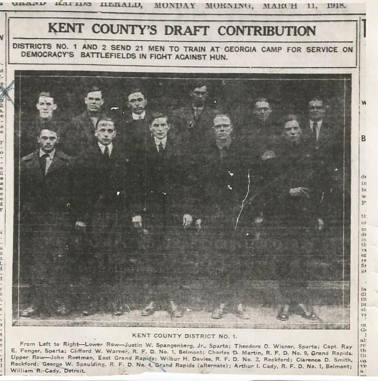 kent county draft_ww1