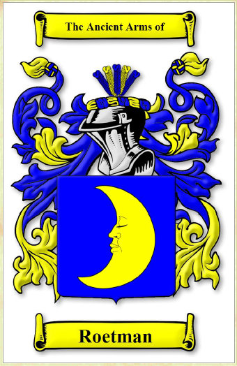 roetman coat of arms