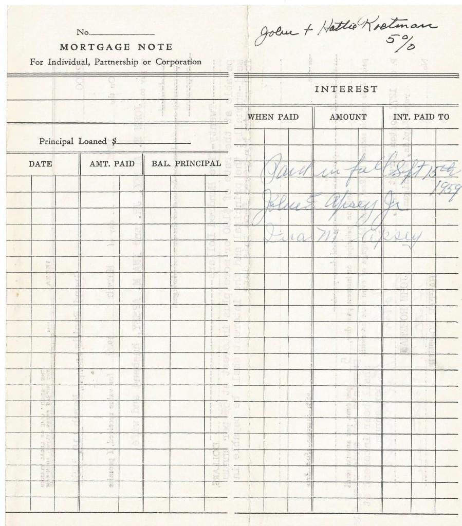 roetman mortgage 1959c