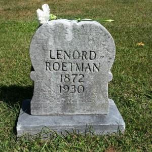 leonard roetman stone