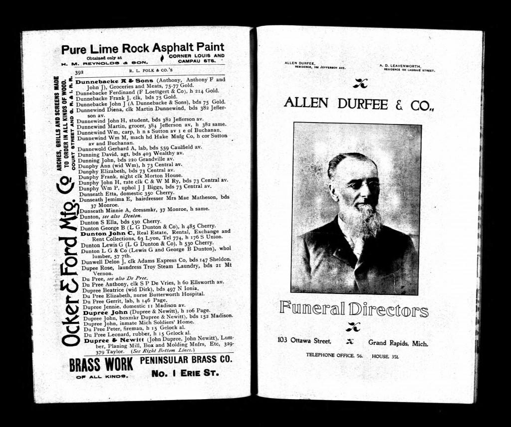 dupree 1896