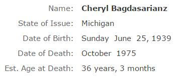 Cheryl Bagdasarianz ss
