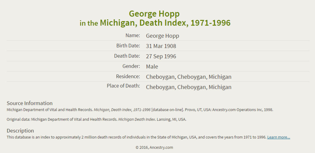 George Hopp jr_death