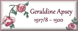 Geraldine Apsey 1917