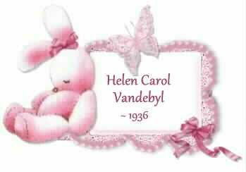 Helen Carol Vandebyl -1936