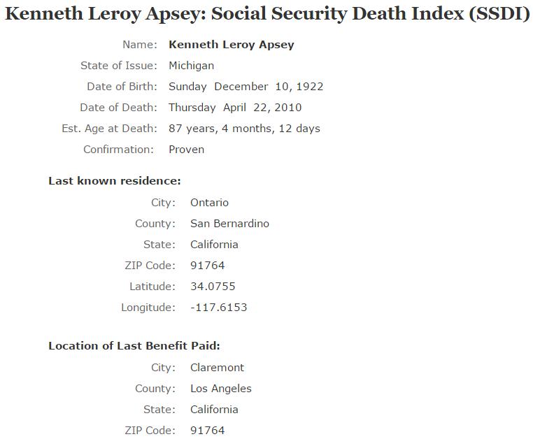 Kenneth Leroy Apsey_ssdi