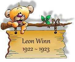 Leon Winn 1922-1923
