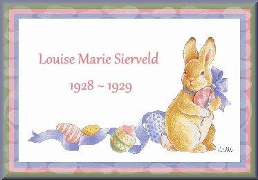 Louise Marie Sierveld 1928-1929