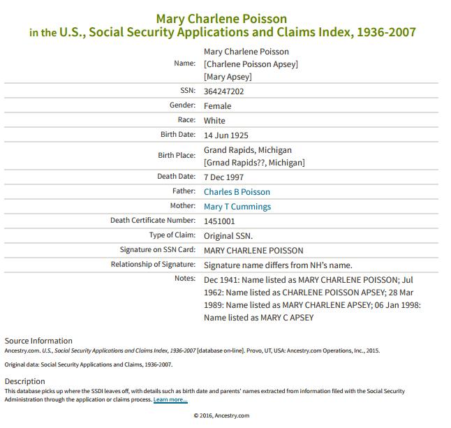 Mary Charlene Poisson_ss