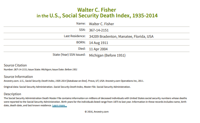 Walter C Fisher_ss