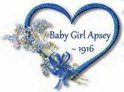 baby girl apsey -1916 4