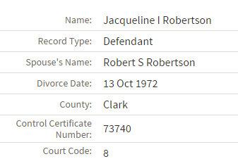 jacqueline robertson divorce