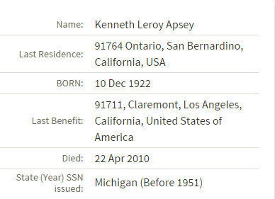 kenneth leroy apsey death