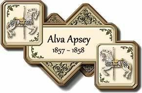 Alva Apsey 1857-1858