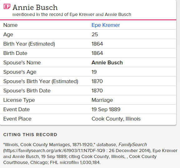 annie-bush_marriage