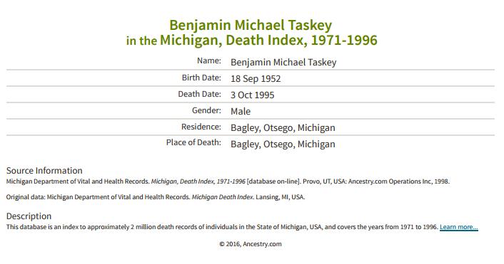 benjamin-michael-taskey_death