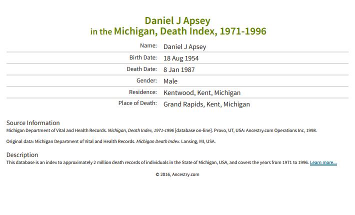 Daniel Apsey_death