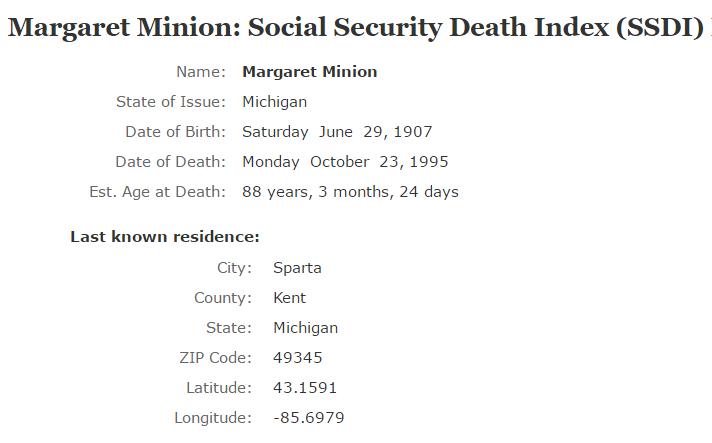 Margaret Apsey Minion_ssdi