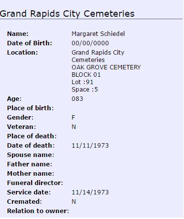 margaret-schiedel_burial