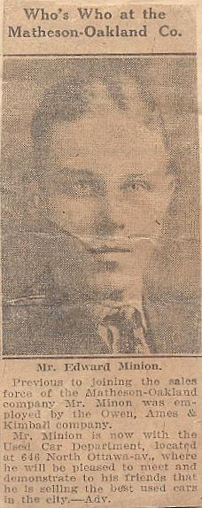 Mr Edward Minion
