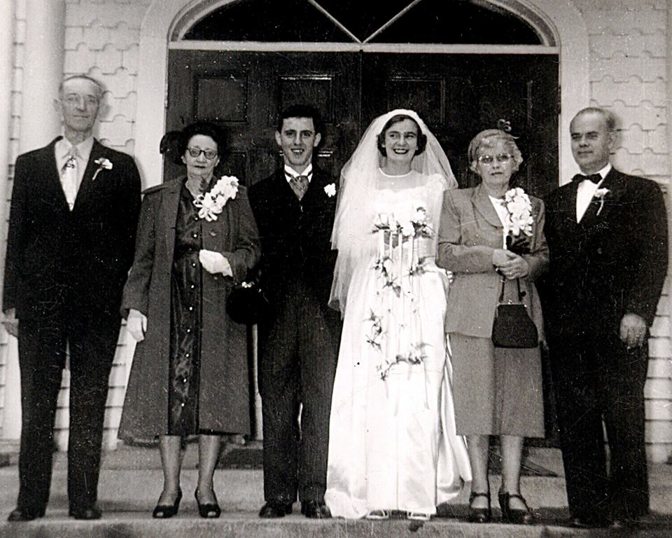 Nancy Devitt David Landers wedding