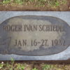 Roger Ivan Schiedel stone