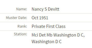 nancy devitt muster