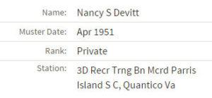 nancy devitt muster 4