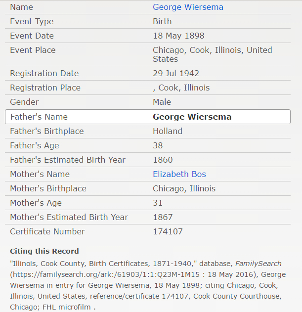 george-wiersema-jr_birth