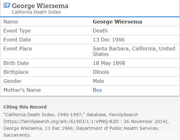 george-wiersema-jr_death