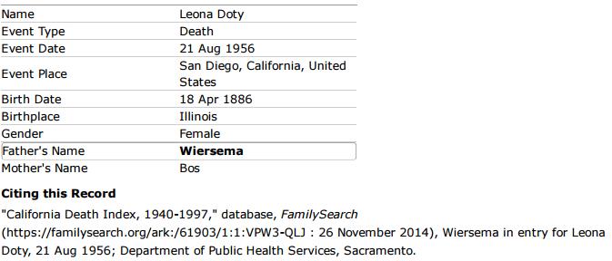 leona-wiersema-doty_death