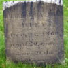 Abraham Hagaman Jr stone while cleaning