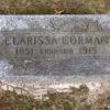 Clarrisa Corman stone