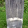 Elizabeth Hagaman stone before cleaning