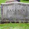 Hagaman monument front