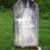 Martha Carpenter stone before cleaning