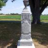 Calvin Hagaman monument 1