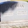 S Wallace Celina A Hagaman stone