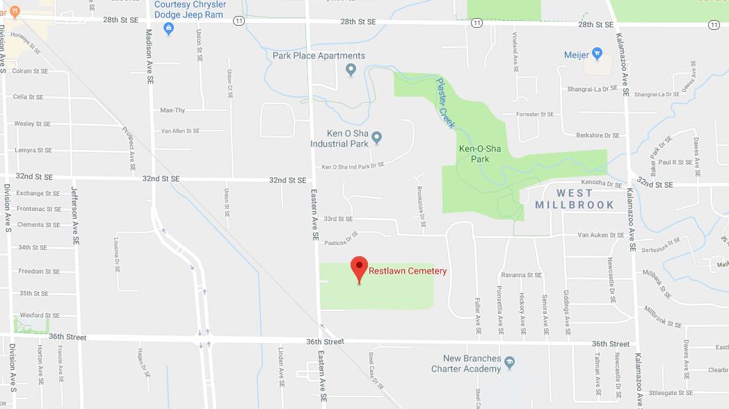 Garfield Park Cemetery Grand Rapids Michigan Ancestorspeak Com